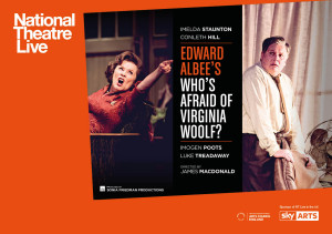 UK NT Live Who's Afraid of Virginia Woolf Landscape listings image