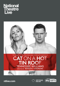 NT Live Cat on a Hot Tin Roof Listings Image Portrait UK